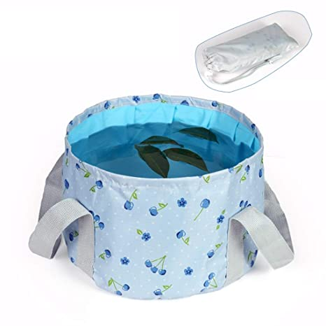 Amazon com : LSLMCS Water Bucket Folding Washbasin Wash