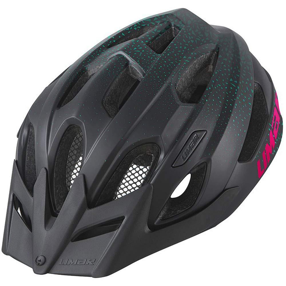 Limar Berg-EM Fahrradhelm // Schwarz/Pink Matt, Dimension:M (52-57cm), Ausführung:Schwarz/Pink Matt Ausführung:Schwarz/Pink Matt