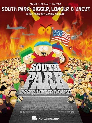 South Park: Bigger, Longer & Uncut by Trey Parker, Marc Shaiman (1999) Sheet music (South Park Bigger Longer And Uncut 1999)