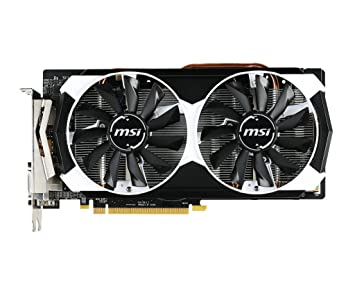 MSI V314-013R - Tarjeta gráfica (PCI-E R9 380 2GD5T OC 2048 MB DDR5, DVI/HDMI)