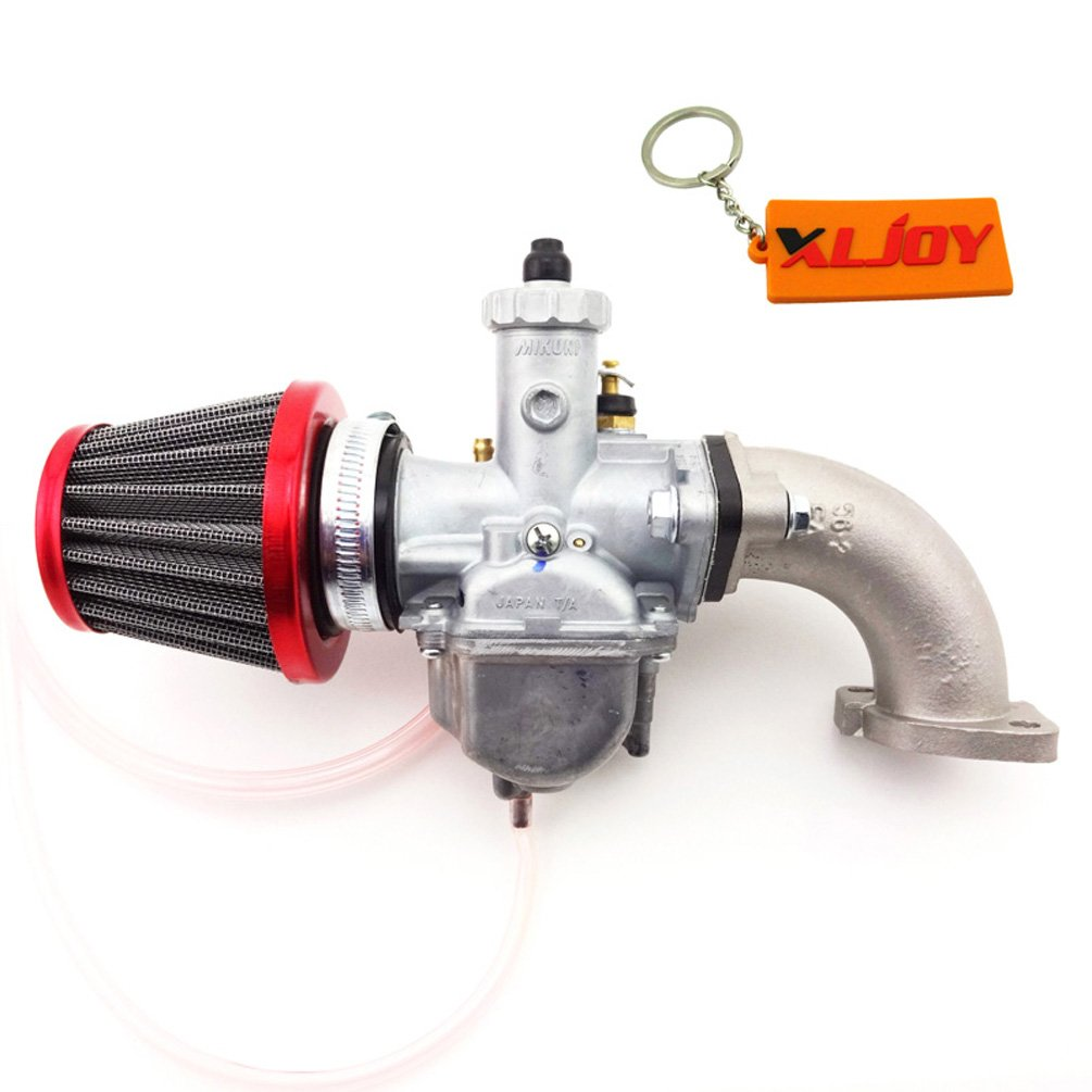 XLJOY Carb Intake Adapter Boot Pipe Flange Gasket for 110cc 125cc 140cc 150cc 160cc Pit Dirt Bike