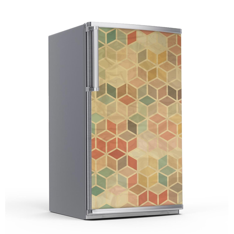 creatisto Moderniser Machine à laver cuisine | Feuille adhésive décorative - Mosaïque murale | Motif 3D Retro | 60x80 cm creatisto GmbH