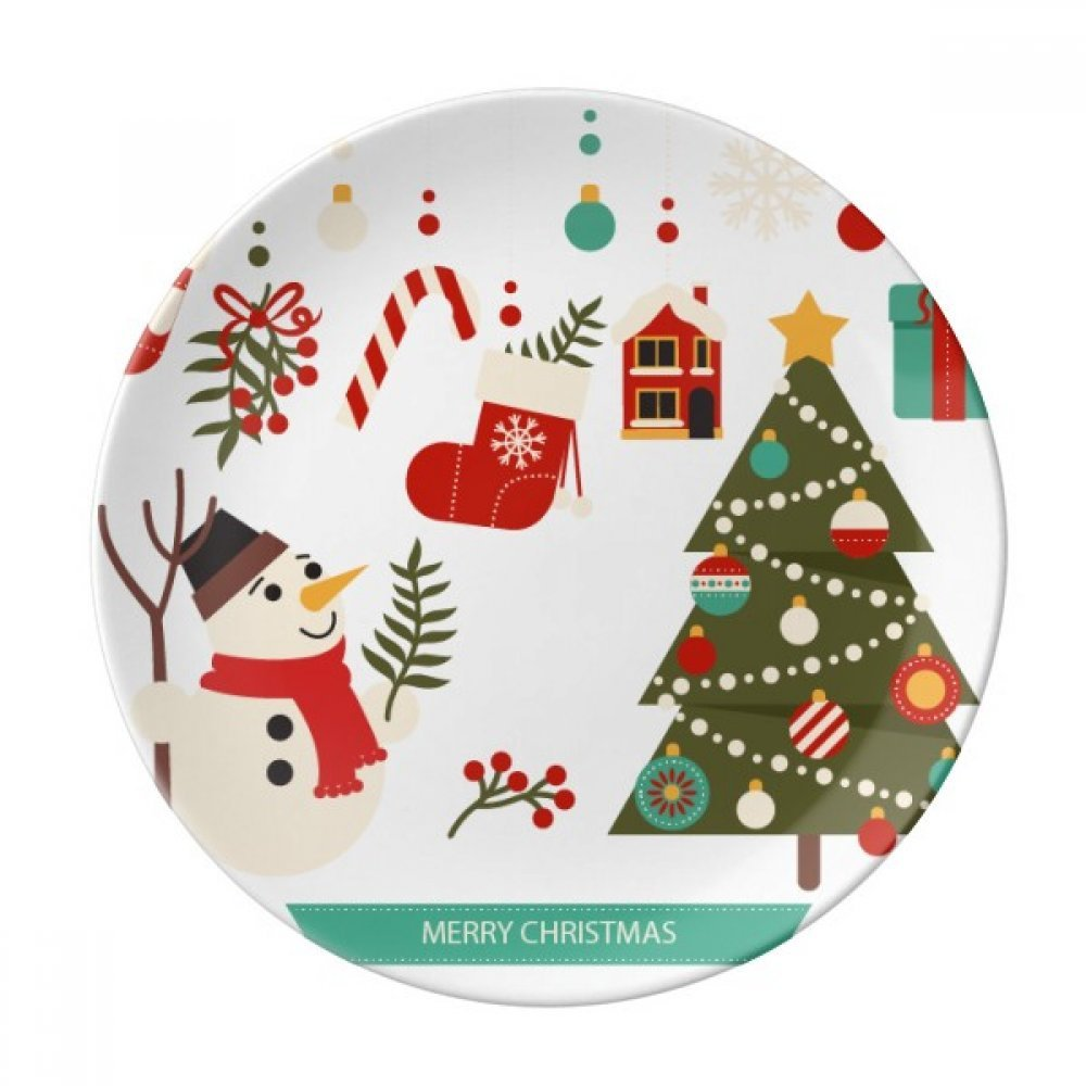DIYthinker Frohe Weihnachten Schneemann-Geschenk-Muster Dekorative ...