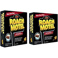 Black Flag Roach Motel Insect Trap(2 Packs 4 Traps)