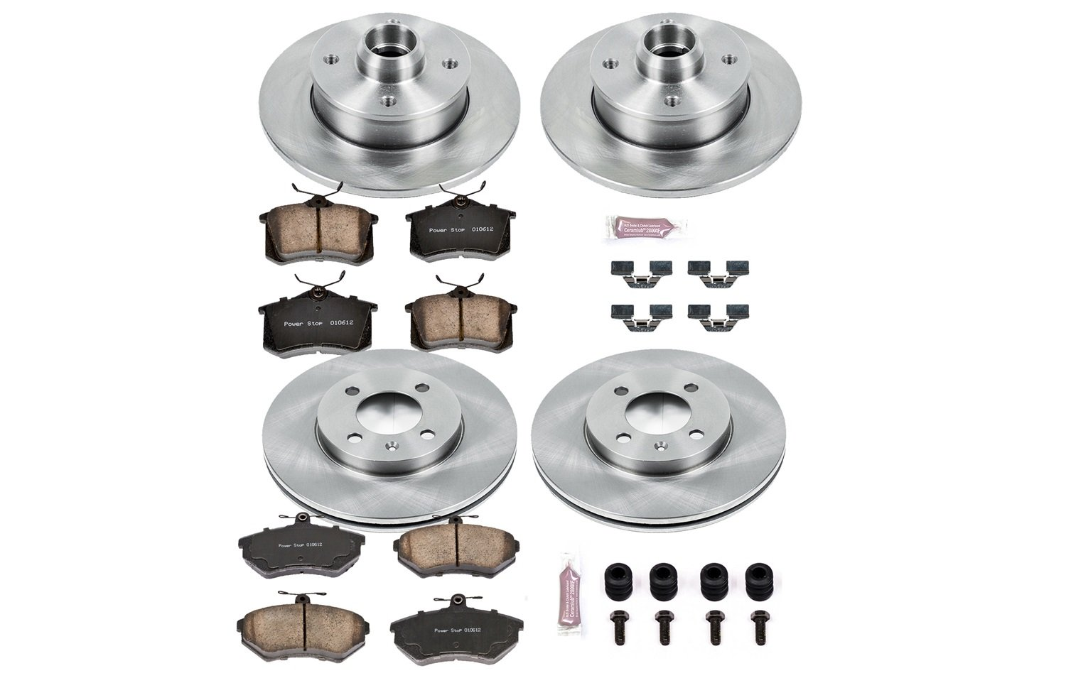 Autospecialty KOE375 1-Click OE Replacement Brake Kit