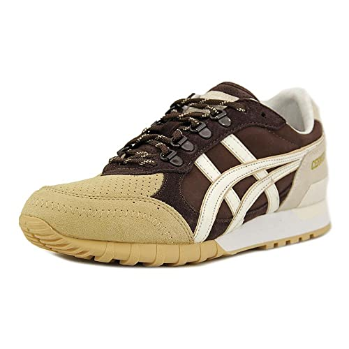 newest bdabc 72914 ASICS Onitsuka Tiger Colorado Eighty Five Mens Brown Suede ...