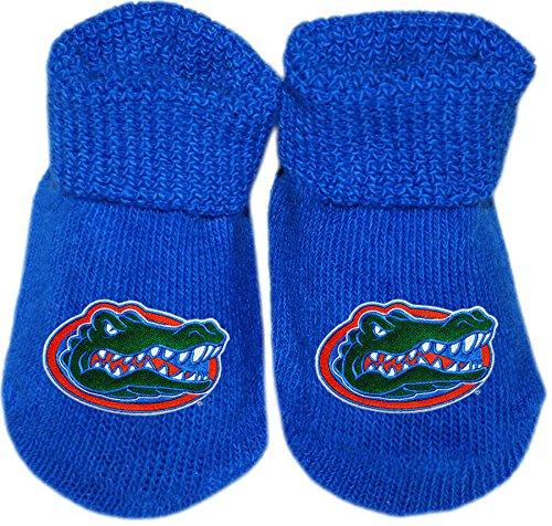 Creative Knitwear University of Florida UF Gators Newborn Baby Bootie Sock ()