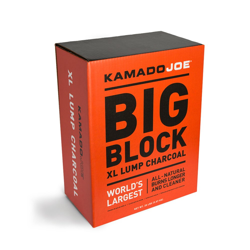 9 kilograms Kamado Joe Lumpwood Restaurant Grade Charcoal KJCHAR