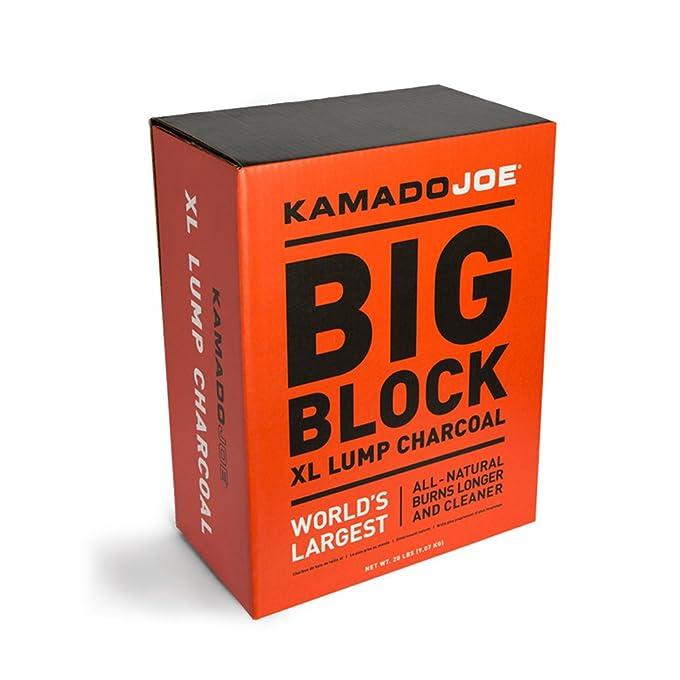 Kamado Joe KJ-Char Hardwood Lump Charcoal, Extra Large Best Lump Charcoal of 2019