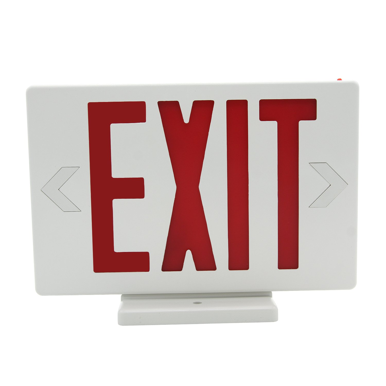 HYD-Parts LED Exit Sign Emergency Light,UL Certified - Hardwired Red LED Exit Sign, Modern Design - Battery Backup - Emergency Fire Safety