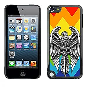 Dragon Case - FOR Apple iPod Touch 5 - ?Forget what should be forgotten - Caja protectora de pl??stico duro de la cubierta Dise?¡Ào Slim Fit