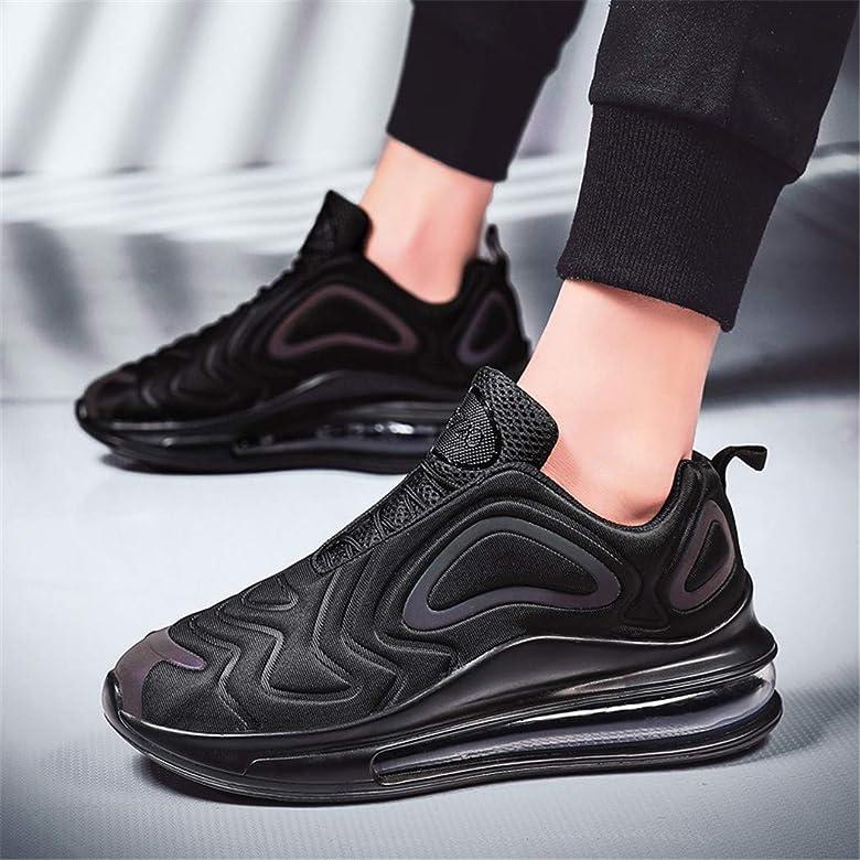 Veluckin Air Zapatillas de Deportes Hombre Mujer Zapatos Deportivos Running Zapatillas para Correr Calzado Asfalto,Negro,45EU: Amazon.es: Zapatos y complementos