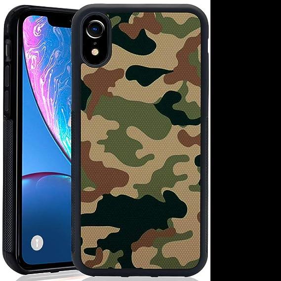 info for 8f8d3 05e61 Amazon.com: iPhone Xr Phone Case, Camo Pattern Anti-Scratch Shock ...
