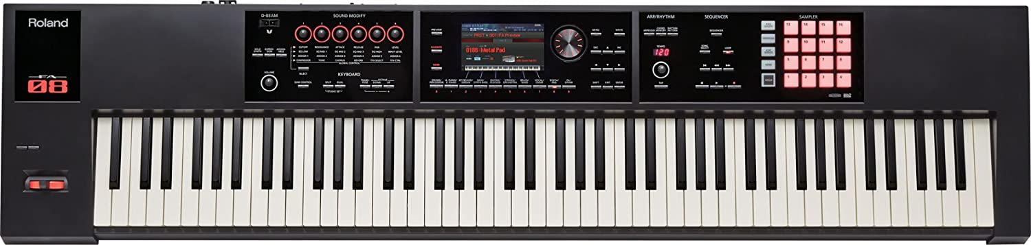 Roland 88-key Music Workstation (FA-08)