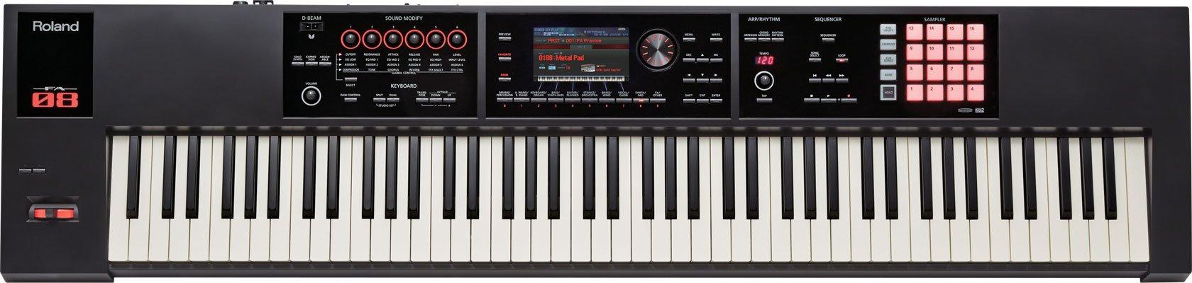Roland 88-key Music Workstation (FA-08) by Roland