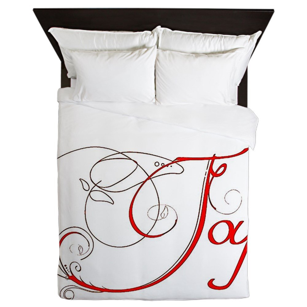 CafePress - Joy! - Queen Duvet Cover, Printed Comforter Cover, Unique Bedding, Microfiber