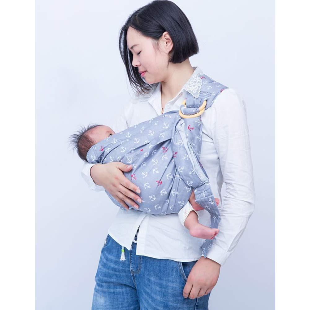 Sling De BebÉ De ReciÉN Nacido Sling De Lactancia De BebÉ Honda De Cuidado Infantil ReciÉN Nacido De La Bolsa De Abrazo Horizontal 4f4e18
