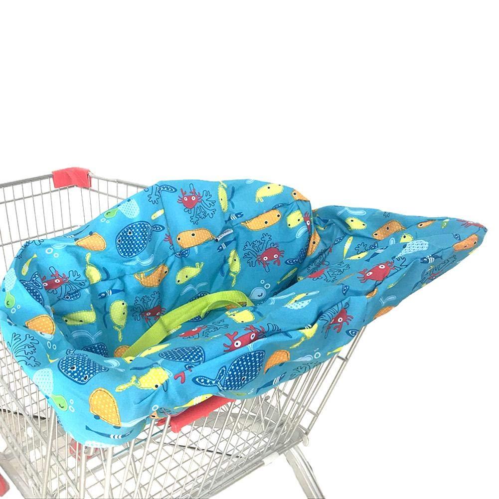 Supermarkt f/ür Babys Einkaufswagenbezug Hochstuhl f/ür Babys Schutz antibakteriell bedruckt Supermarkt-Einkaufswagen-Sitzbez/üge Einkaufswagen gro/ß Esszimmerstuhl Kinder