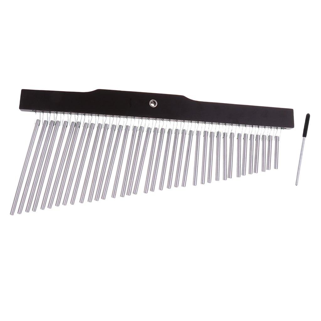 25/36-Tone Bar Chimes Single-row Wind Chime Instrutment For Kids Educational - #2 by Gazechimp
