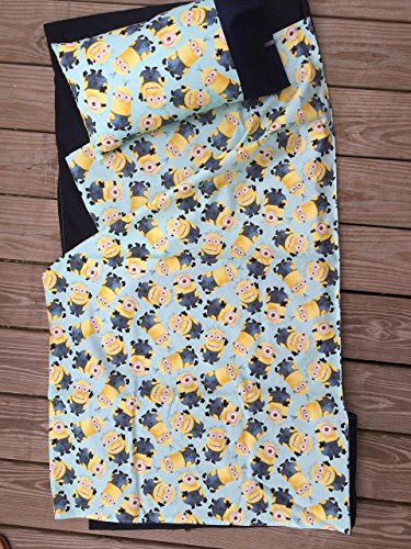 Kindermat cover - Minion- with matching pillowcase