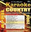 Karaoke: Country Hits of the Month - April 2009