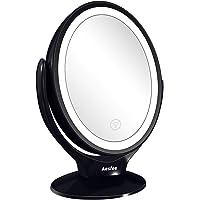 Espejo de Maquillaje de Doble Cara con Luces