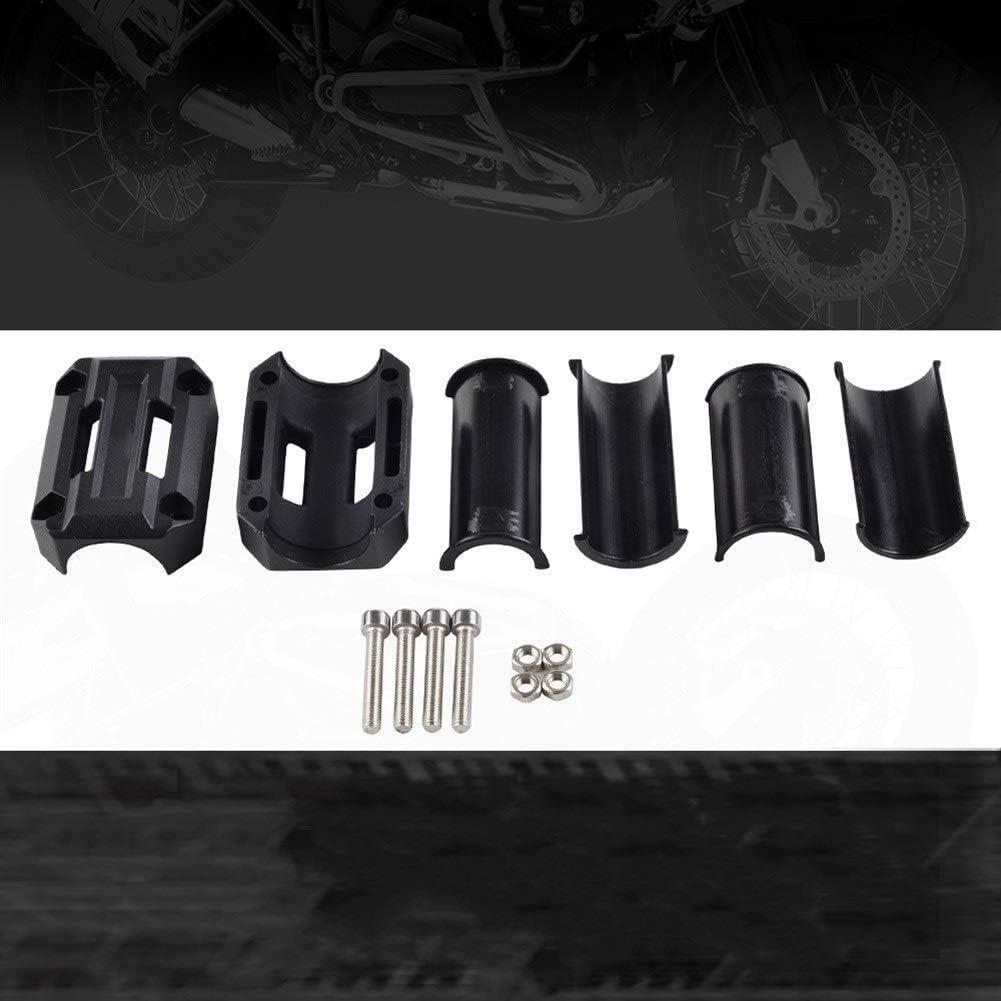 Color : Black LOOEST Motorrad Motorschutz Auto-Dekor-Block-Protektoren Kit for Yamaha XT1200Z Super T/én/ér/é for Suzuki V-Strom DL 1000//650 Etc Sto/ßstangenblock-Schutzdekor