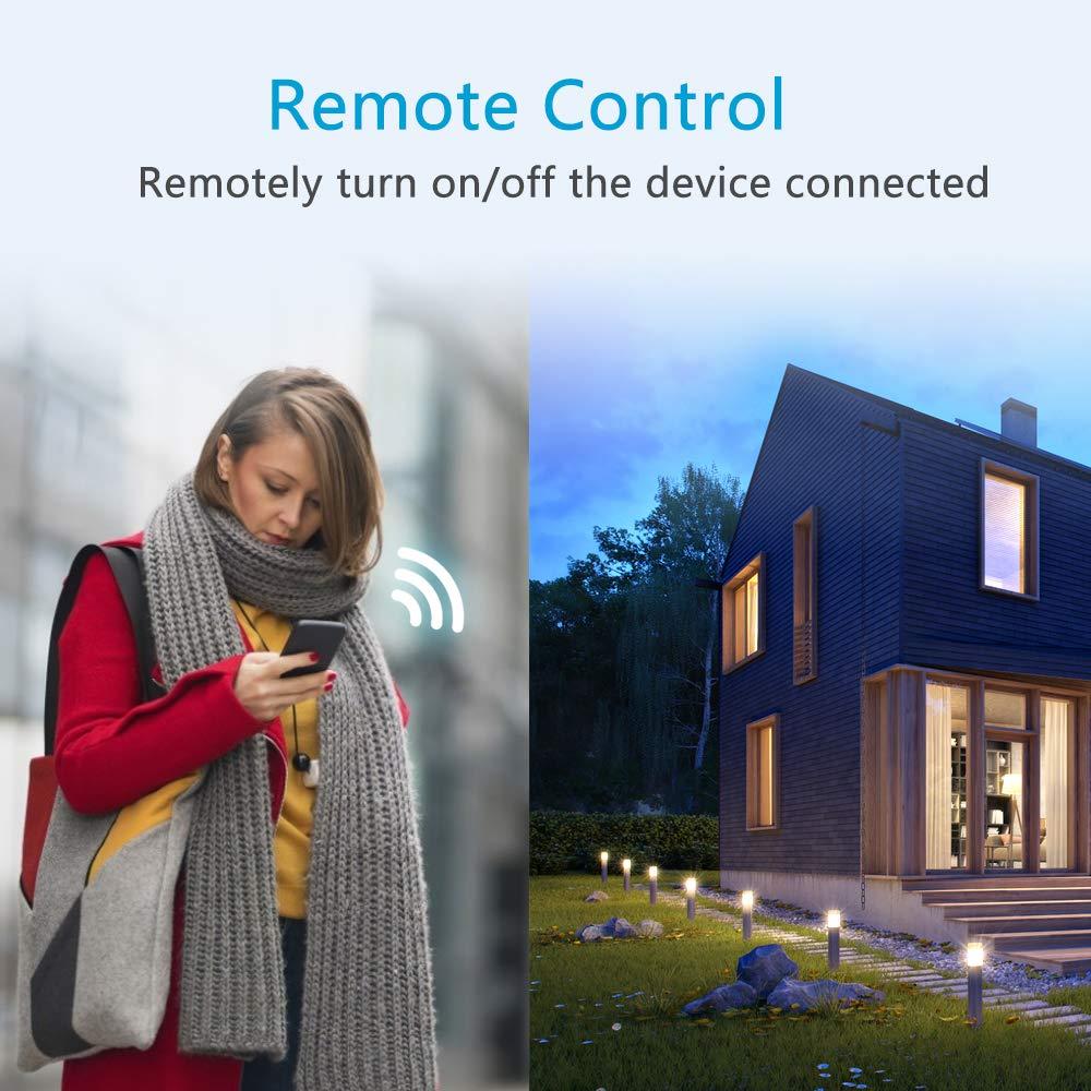eMylo Disyuntor Inteligente 1P 63A Interruptor De Circuito De Wifi Circuit Breaker Interruptor Autom/ático Inalambrico con funci/ón de temporizaci/ón y retraso compatible con Alexa y Google Home 230V