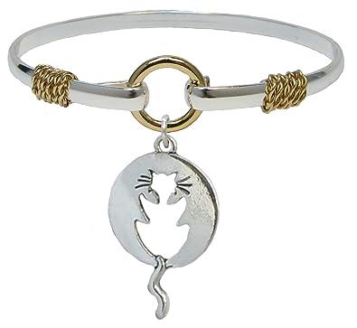 Katze Schwanz Silber Armband Gold Draht Schmuck Kitty: Amazon.de ...