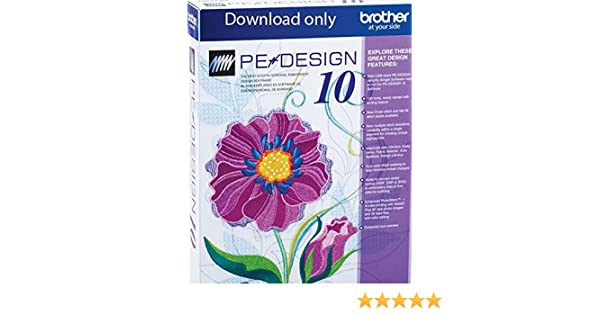Amazon Com Brother Pe Design 10 Upgrade