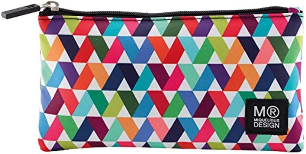 Miquel Rius Bolsa Estuche Plano, 21,6 cm x 12,7 cm x 12 cm Origami luz, acrílico, Multicolor: Amazon.es: Hogar