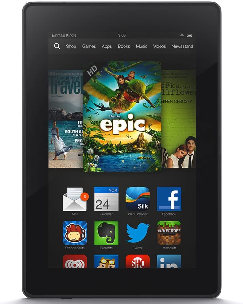 Amazon Com Kindle Fire Hd 7 Hd Display Wi Fi 8 Gb Includes Special Offers Previous Generation 3rd Kindle Store