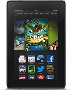 """Kindle Fire HD 7"""", HD Display, Wi-Fi, 8 GB - Includes Special Offers (Previous Generation - 3rd)"""