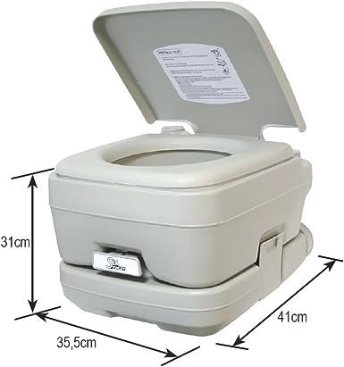 ORANGE MARINE WC químico portátil: Amazon.es: Ropa y accesorios