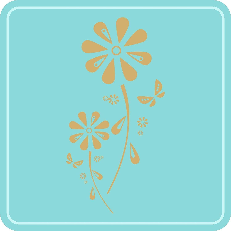 INDIGOS UG Wandtattoo - Wandaufkleber - Wandtattoo Wandtattoo Wandtattoo Margariten-Traum - 119cm x 58cm dunkelrot - Dekoration Küche Wohnzimmer Wand B07Q29DFFN Wandtattoos & Wandbilder d0d640