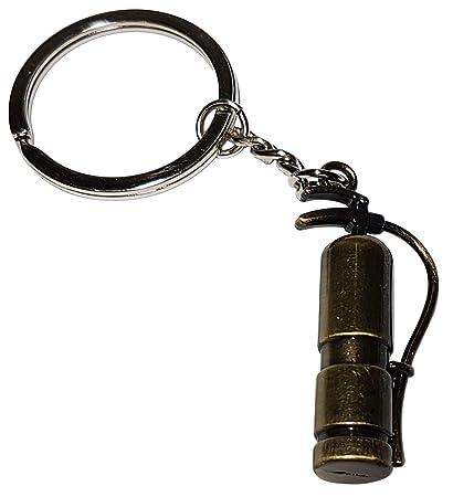 Cameleon-Shop Llavero Metal Extintor Bombero Fuego: Amazon ...