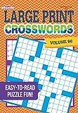 Large Print Crosswords Puzzle Book - Volume 96