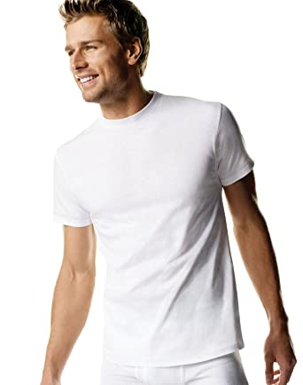 953e8219be83 Amazon.com: Hanes Men's ComfortSoft T-Shirt (6 Pack): Clothing