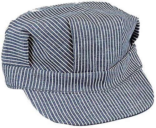 Railroad Engineers (Hickory Stripe Railroad Cap Engineer Railroad Hat)