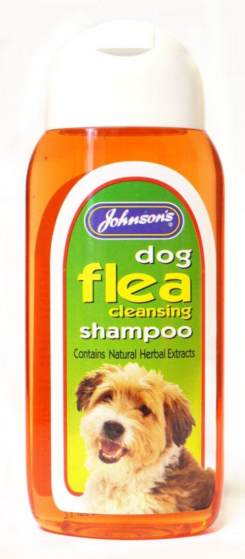 Johnson's Vet Dog Flea Cleansing Shampoo, 200 ml Johnsons Vet G045 1178