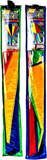 Easy to Fly /& Launch Easy to Assemble Glider Plus 1 Bouncy Ball Family Outdoor Kids Games Birthday Party Favors Gifts Pack of 4 Assorted 9871-4p JA-RU Delta Kite in Bulk Kites for Kids
