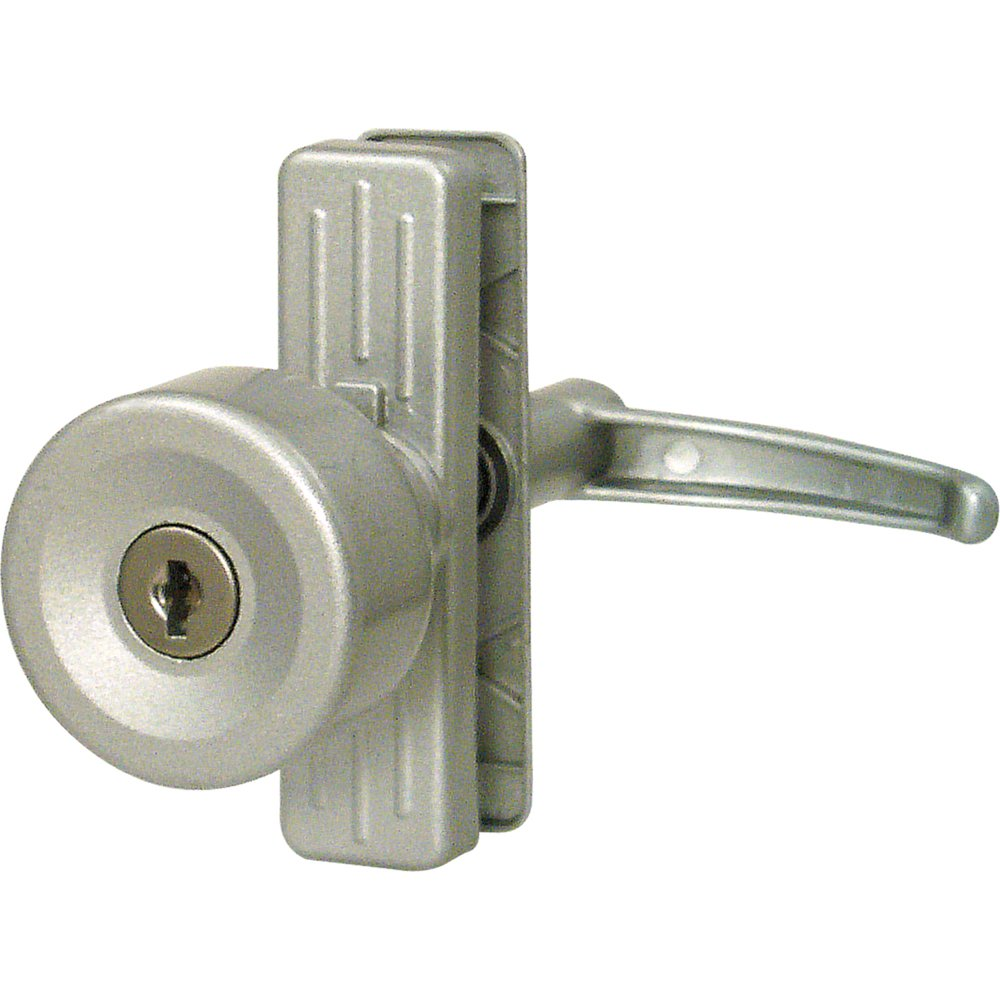 Prime-Line Products K 5078 Keyed Tulip Knob Lock with 3-Inch Hole Center, Aluminum