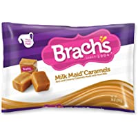 Brach's Milk Maid Caramels, 14 Ounce Bag ( Pack of 12 )