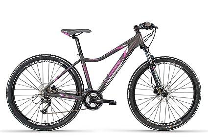 Lombardo bikes-bicicleta de montaña para mujer Sestriere 350 D/27,5 gris