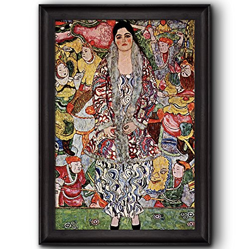 Portrait of Friederike Maria Beer by Gustav Klimt Framed Art