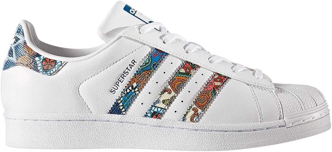 adidas Superstar W, Chaussures de Fitness Femme, 39 1/3 EU ...