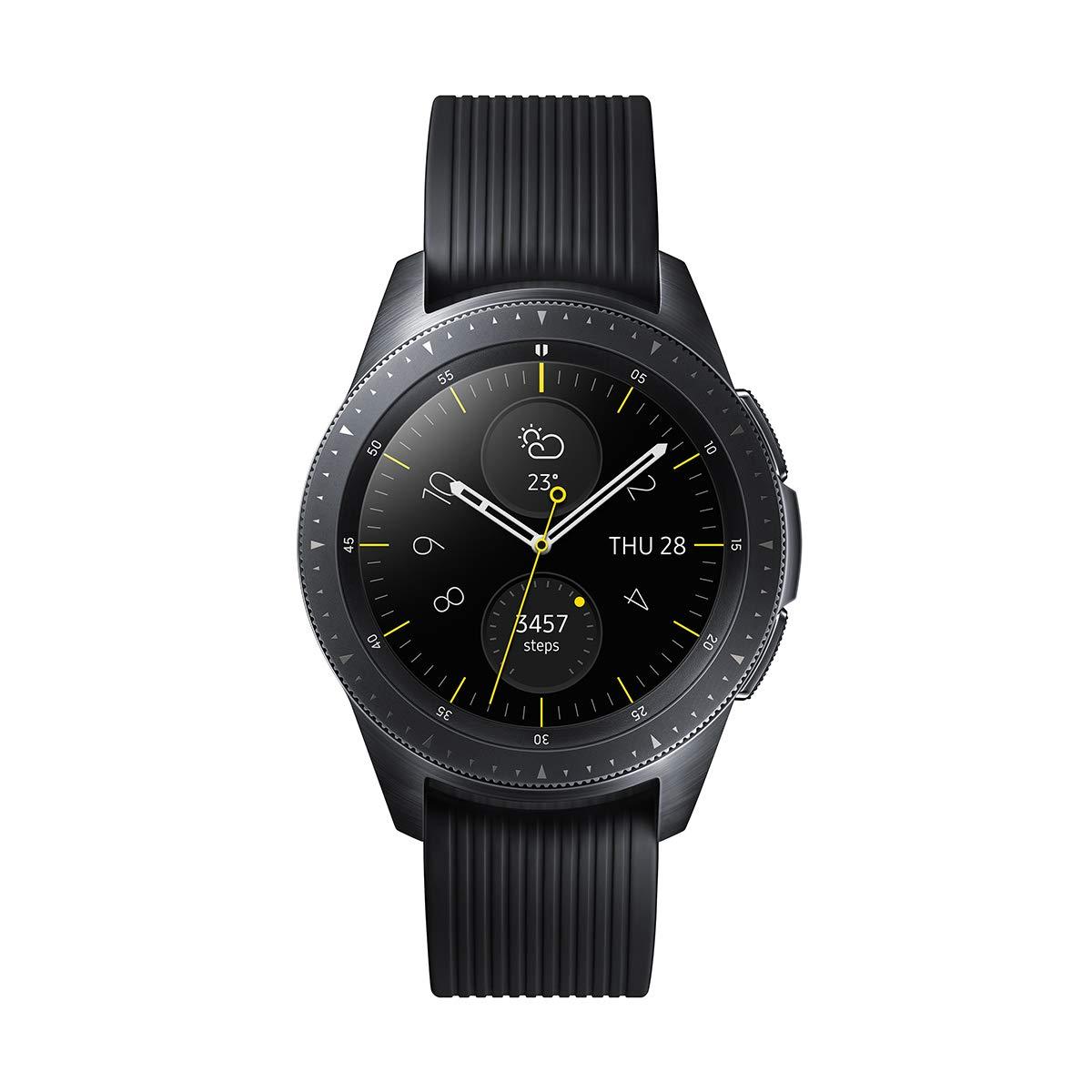 Samsung Galaxy Watch - Reloj Inteligente, Bluetooth, Negro, 42 mm ...