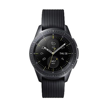 Samsung Galaxy Watch - Reloj inteligente LTE (42 mm) color negro- Version española