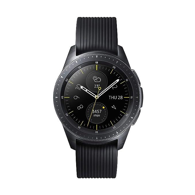 Samsung Galaxy Watch - Reloj Inteligente, Bluetooth, Negro, 42 mm- Version española
