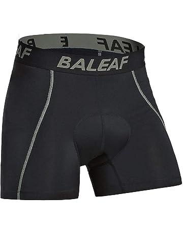 39e6ad3b068fa Baleaf Men's 3D Padded Bike Bicycle MTB Cycling Underwear Shorts